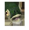 Fish mask detail