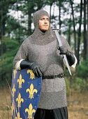 Mail armour with coif