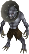 Werewolf (The Lord of Vampyrium - humiliated)
