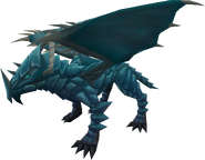Rune dragon (armoured)