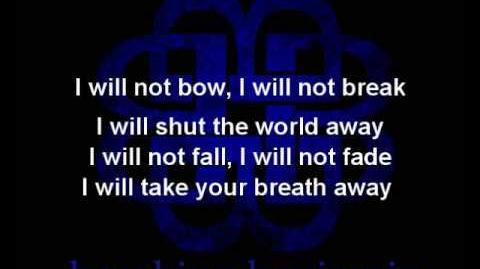Breaking Benjamin - I Will Not Bow (Lyrics on screen)