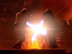 Kenobi skywalker duel