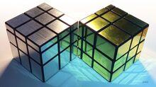 Silver-gold-mirror-cube-puzzle