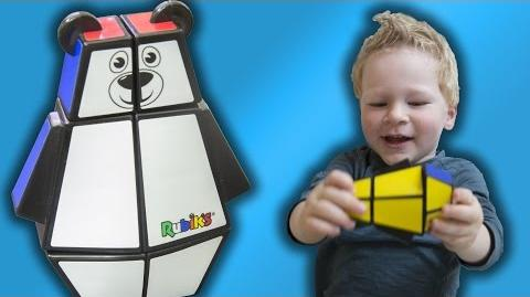 Rubik's Bear - Kid's Review