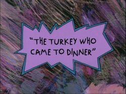 TurkeyWhoCameToDinner