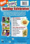 Holiday Celebration DVD Back Cover