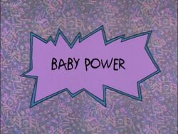 Baby Power Title Card