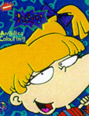 Angelica's Colouring Book