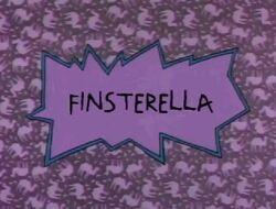 Finsterella Title Card