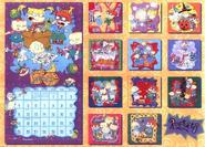 Back Rugrats 1998 Calendar