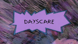 Dayscare title card
