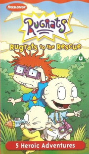 Rugrats to the Rescue VHS Cover