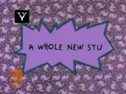 A Whole New Stu Title Card