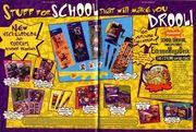 Nickelodeon Magazine August 1998 Rugrats School Supplies Advertisement