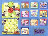 Back Rugrats 1999 Calendar