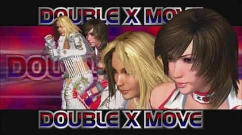 Rumble Roses XX - Double X Move (Texas Buster Press)