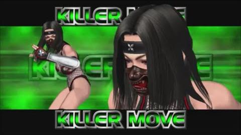 Rumble Roses XX - Benikage Killer Move (Chaos Snow)