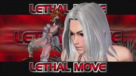Rumble Roses XX - SS Yasha Lethal Move (Matchless Shadow)