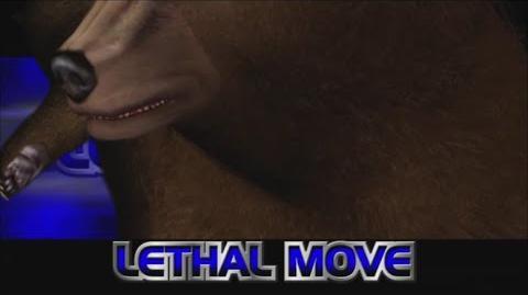 Rumble Roses XX - Non-Non Lethal Move (Bear Combo)