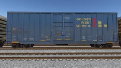 R8 Boxcar 50ft PlateF SP01