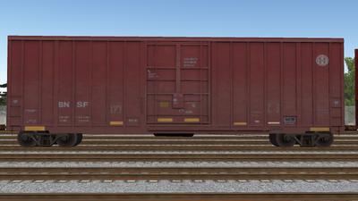 R8 Boxcar 50ft PlateF BNSF02