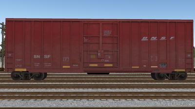 R8 Boxcar 50ft PlateF BNSF01