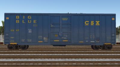 R8 Boxcar 50ft PlateF CSX01