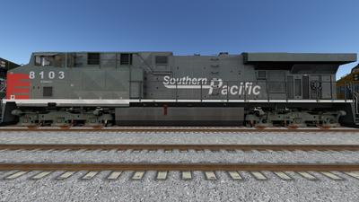 Run8 ES44DC SP