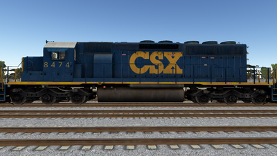 R8 SD402-2 CSX01