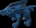 Hatchling dragon (blue) pet