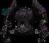 Malevolent cuirass (shadow) detail