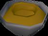 Half made choc bowl detail