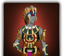 Feathered serpent outfit
