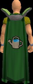 Retro farming cape equipped