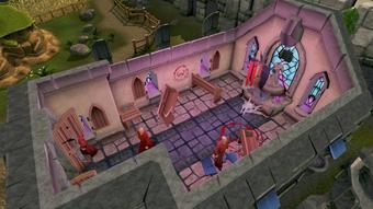 Chaos Temple (Asgarnia) interior