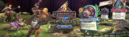 Chronicle Open Beta head banner