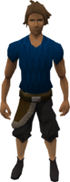 Retro pirate's longshorts