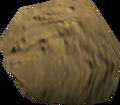 Pet rock (yellow) detail