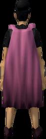 Fremennik cloak (pink) equipped