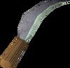 Opal machete detail