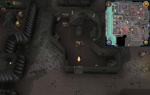 Scan clue Keldagrim inside Blasidar's Gravestones shop