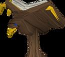 Mahogany eagle lectern