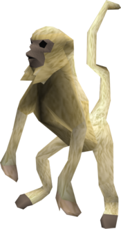 Monkey (beige) pet