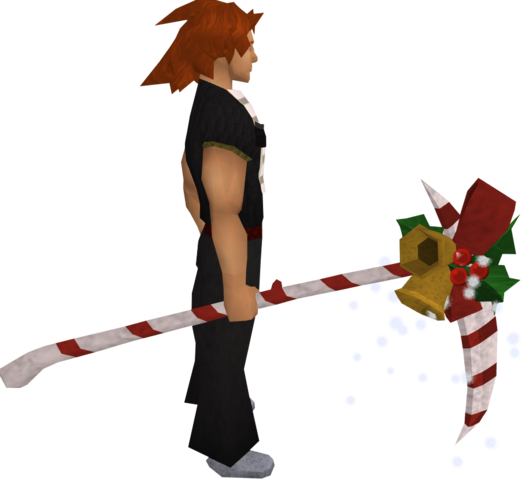 File:Christmas scythe equipped.png