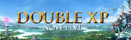 Double XP Now Live lobby banner