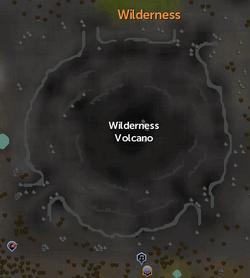Wilderness Volcano map