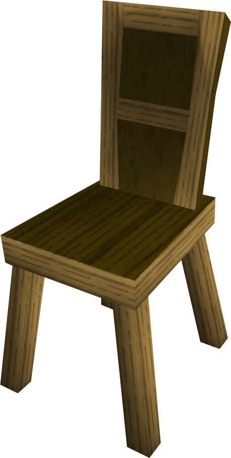 Wooden chair RuneScape Wiki FANDOM powered by Wikia