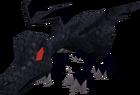 Hatchling dragon (black) pet old