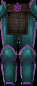 Rune platelegs (Ancient) detail