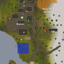 South of Draynor village skirmish location